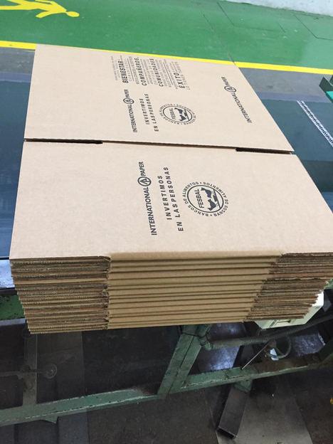International Paper dona 2 millones de cajas para apoyar la distribución de alimentos a los afectados por la crisis del COVID-19