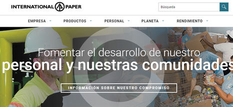 International Paper dona material de cartón ondulado a hospitales y Cruz Roja Española