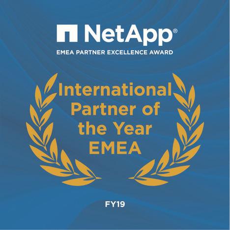 """Fujitsu obtiene el premio de EMEA Partner Excellence de NetApp por ser el """"Partner International del Año"""""""