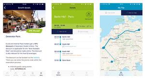 Interrail lanza su nueva aplicación gratuita para planificar rutas ferroviarias: Todas sus nuevas funciones con un planificador de viajes y un calendario en tu bolsillo