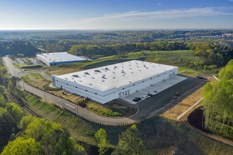 La segunda planta de Interroll en su emplazamiento en Hiram, Atlanta, en el estado de Georgia comienza sus operaciones.