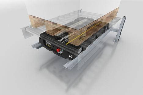 Nuevo transportador inteligente de paletas de Interroll para potenciar el rendimiento en la logística de fabricación