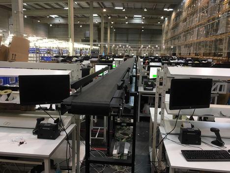 Interroll y Modumaq proporcionan la máxima versatilidad para la gestión de materiales a Arvato Supply Chain Solutions en España