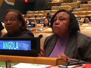 Intervención de Ministra de la Familia y promoción de la mujer en la Comisión sobre la condición de la mujer (CSW) en ONU.