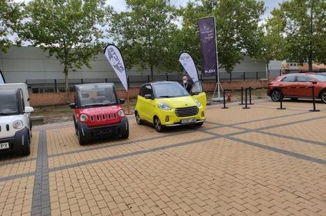 Gran acogida de Invicta Electric en la Feria MOGY de movilidad y sostenibilidad
