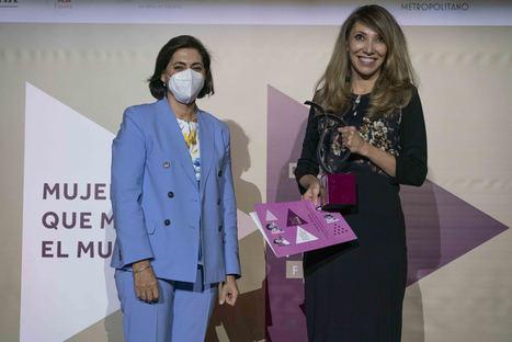 La directora general de Facebook España y Portugal, Irene Cano, Premio FEDEPE por su liderazgo directivo
