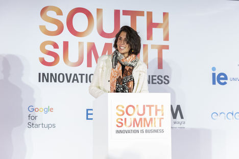 Irene Gómez, Wayra South Summit 2020.