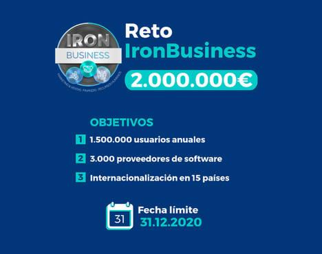 IronBusiness, el reto de crecer a un 400%