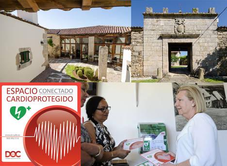 Pazo de Eidián primer pazo rural cardioprotegido en Galicia