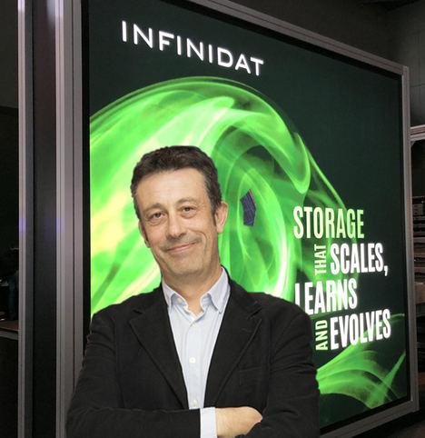 Israel Serrano, Infinidat.