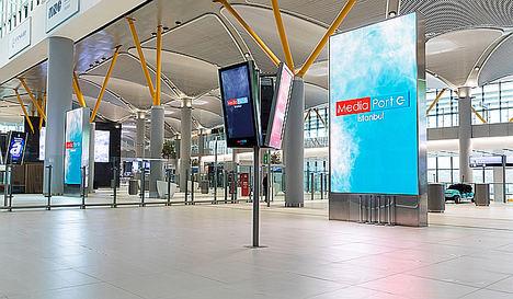 Samsung instala el LED Signage interior más grande del mundo en el nuevo Aeropuerto de Estambul