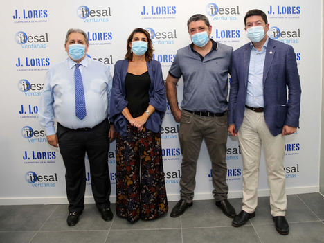 Itesal convierte la reapertura de Aluminios J. Lorés en una cita empresarial de la Arquitectura
