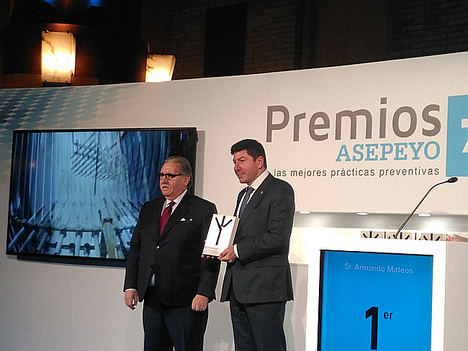 Itesal recibe por tercera vez el Primer Premio Nacional Asepeyo por sus excelentes prácticas preventivas