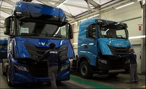 Las fábricas de Iveco en España reanudan su actividad
