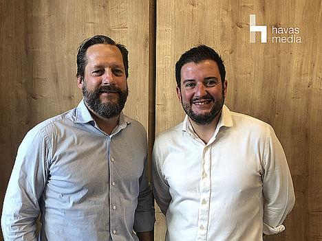 Izda.: Rodrigo Olivié, Director General Havas Media Madrid y Fernando López-Quero, nuevo Head of Strategy Havas Media Madrid.