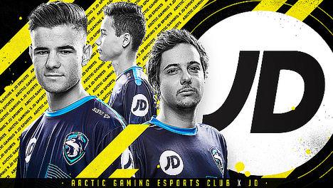 JD Sports entra de lleno en los eSports patrocinando al equipo Arctic Gaming