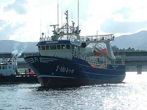 Jomafran: nuevo buque congelador de la flota de Anamar