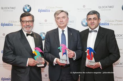 """El Club de Exportadores es galardonado con el Premio """"Diplomática"""""""