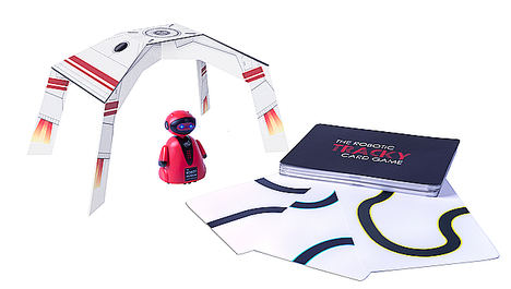 Tracky, The Robotic Card Game.