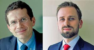 Jacques Henry y Julien Holtz, de Pictet WM.