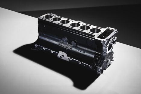Jaguar Classic reincoopora el bloque motor XK de 3,8 litros