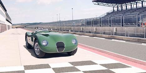 El Jaguar C-Type se incorpora a la familia de Classic