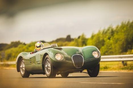 Nueva réplica del Jaguar C-Type