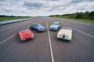 Nueva temporada de eventos del Jaguar Classic