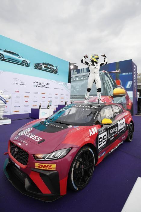 Final del Campeonato Jaguar I-Pace eTrophy