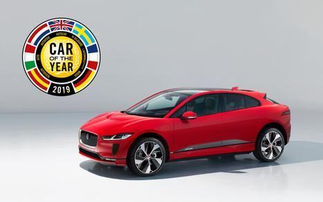 "Jaguar I-Pace, ""Coche del Año en Europa 2019"""