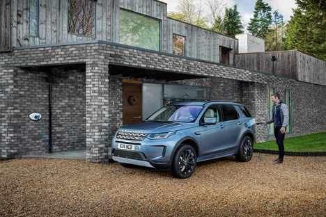 La gama electrificada del Jaguar Land Rover en la Feria del Vehículo Eléctrico