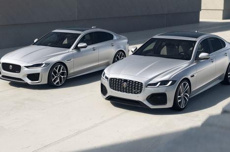 Los Jaguar XE y XF estrenan la versión R-Dynamic Black