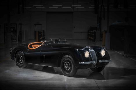 Restauración del Jaguar XK120