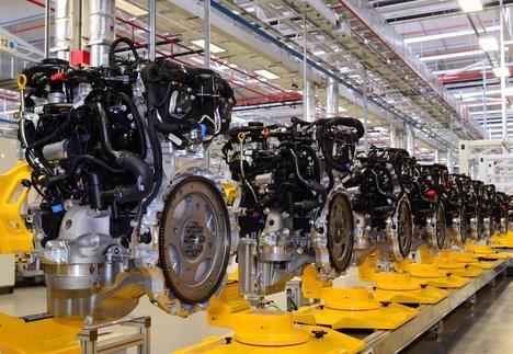 Jaguar Land Rover celebra un hito en la fabricación de motores limpios