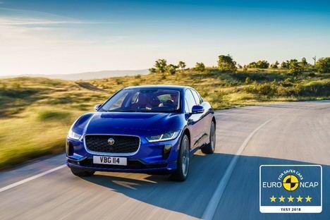 El Jaguar eléctrico I-Pace, máxima calificación de seguridad