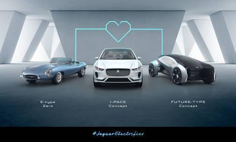 A partir de 2020, todos los Jaguar y Land Rover serán eléctricos
