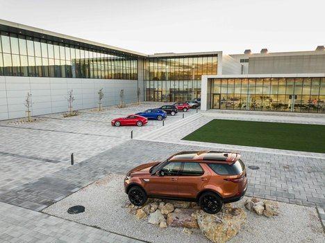 Nueva planta de producción de Jaguar Land Rover en Eslovaquia