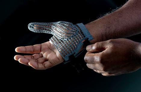 Nuevos guantes impresos en 3D