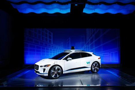 Jaguar Land Rover y Waymo anuncian un acuerdo de colaboración