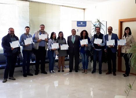 Ibermutuamur reconoce la labor en prevención y reducción de la siniestralidad laboral de trece empresas en Jaén
