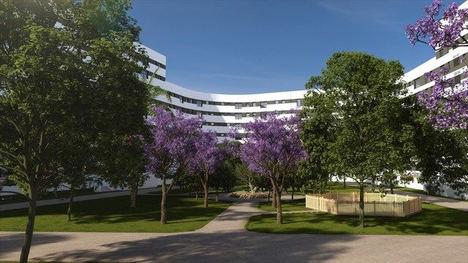 Jardines Hacienda Rosario, nuevo pulmón verde de Sevilla con 33.000 m2 de parque privado