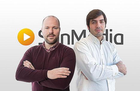 Javier Aparicio y Pablo Arias, SunMedia.