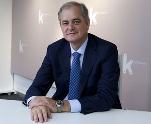 Javier García Lurueña, Kutxabank.