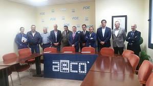 Javier Mateo reelegido presidente de AECO