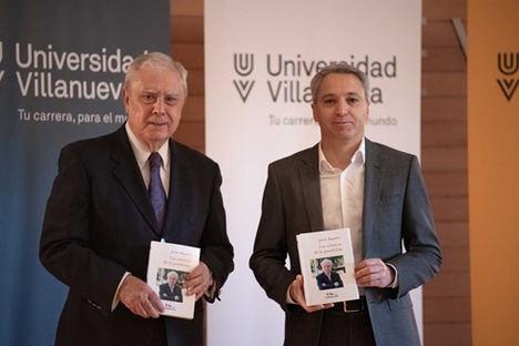 Javier Rupérez y Vicente Vallés conversan en la Universidad Villanueva sobre la pandemia, el confinamiento y la situación en España