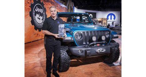 Jeep Wrangler nombrado '4x4/SUV del Año' de SEMA