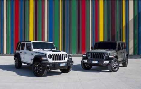 Gama 4xe de Jeep