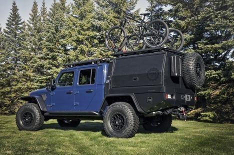 Mopar presenta el Jeep Gladiator Top Dog Concept