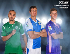 Joma presenta la equipación oficial del CD Leganés para la temporada 2017/18