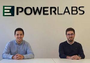 Jon Duroudier, fundador y director técnico de EPowerlabs y Mikel Peral, director general y fundador de EPowerlabs.